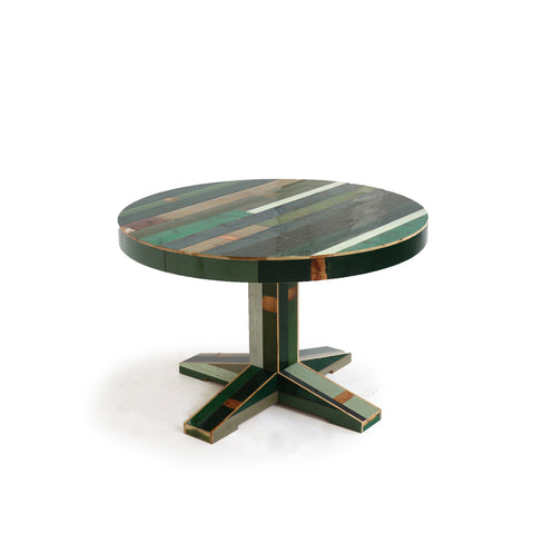 Canteen Table in Scrapwood - Round