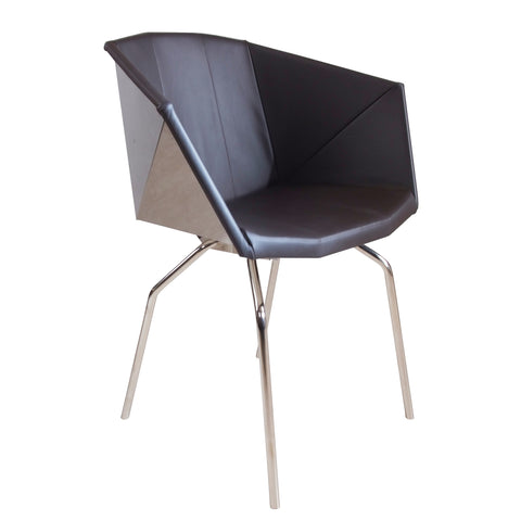Glossy Bucket Chair