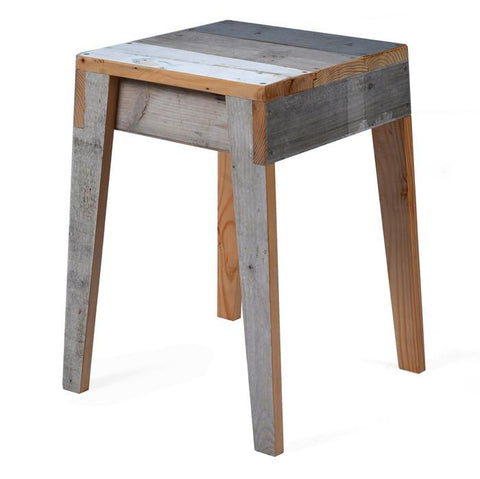 Stool in Scrapwood