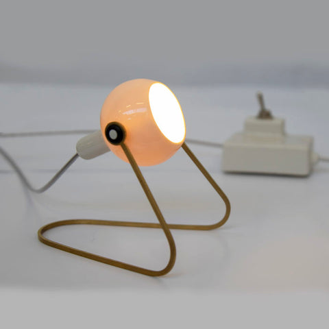Small Ceramic Lamp Standing