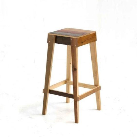 Barstool in Scrapwood