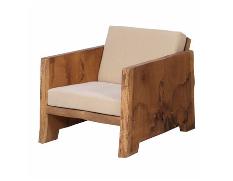 Tree-trunk armchair