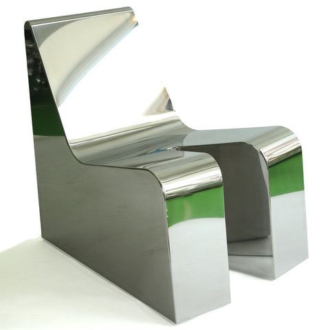 Sexy-Relax Chair Mirror Steel