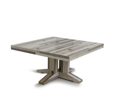 Canteen Table in Scrapwood – Square
