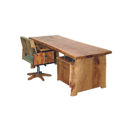 Tree-trunk desktable