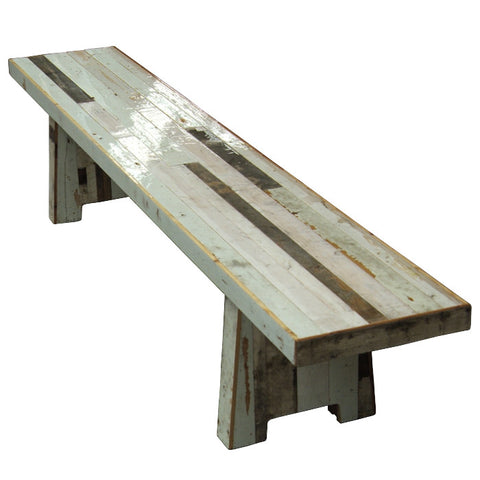 Canteen Bench in Scrapwood