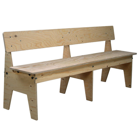 Crisis Bench With Back