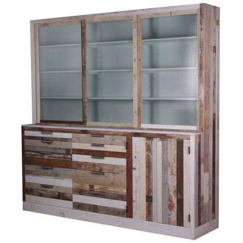 Workshop Cupboard in Scrapwood
