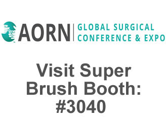 Foam Swab Manufacturer Super Brush LLC to Exhibit at AORN Global Surgical Conference & Expo