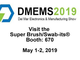 Super Brush LLC/Swab-its® Will Exhibit Its Foam Swabs Product Line at the Del Mar Electronics & Manufacturing Show