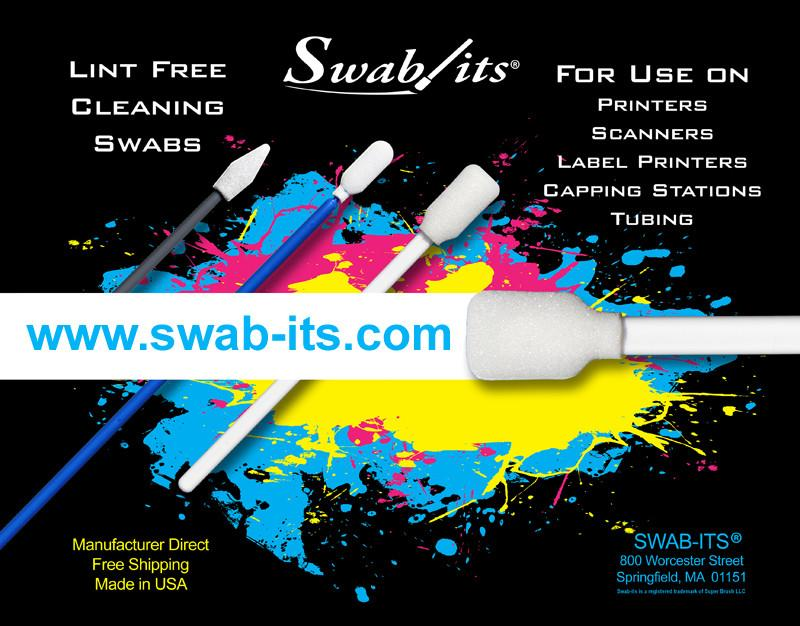 The Importance of Lint-Free Printer Swabs