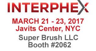 Super Brush to Exhibit at Interphex 2017