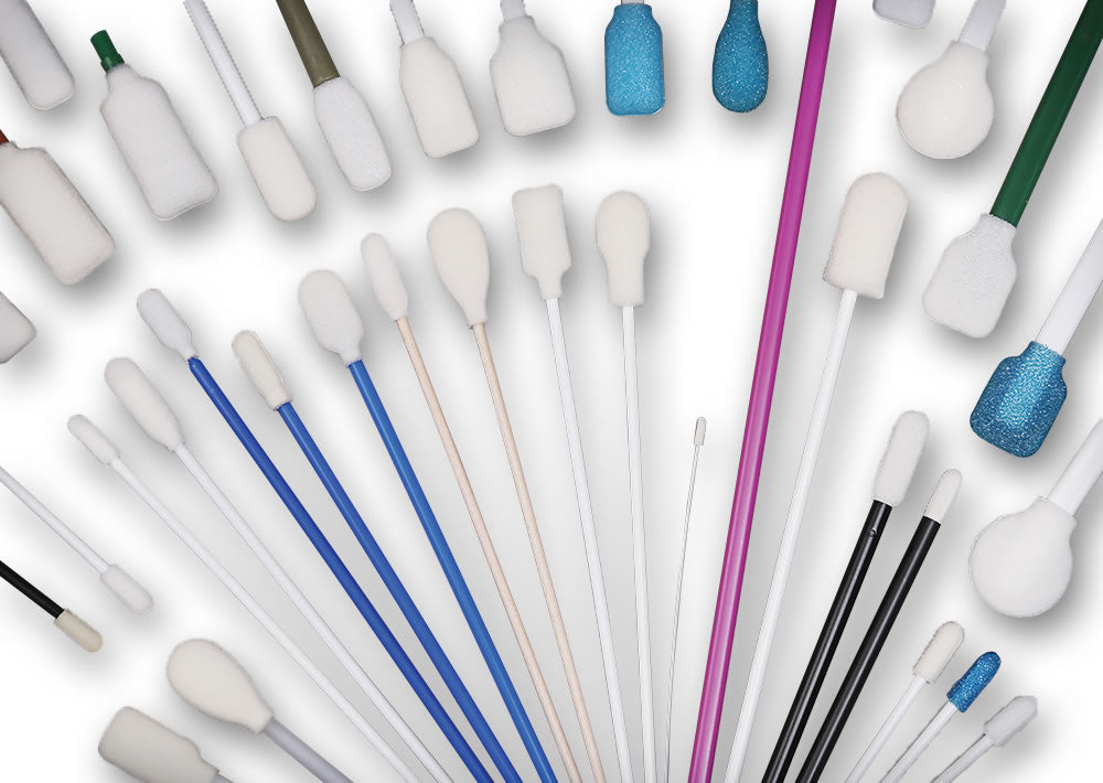 Super Brush Foam Swabs
