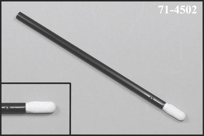 "71-4502: 4.125"" Overall Length Foam Swab with Small Flexor Tip Foam Mitt and Polypropylene Handle"