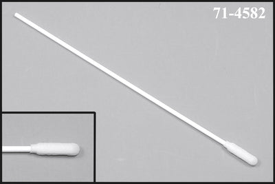 "71-4582: 5.970"" Overall Length Swab with Narrow Foam Mitt on a Polypropylene Handle"