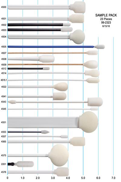 99-23: Introduction Kit of Foam Swabs by Swab-its®