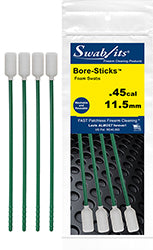 43-4509: .45cal/11.5mm One-Piece Rod W/Swab Cleaning Tool Bore-Sticks™ by Swab-its®