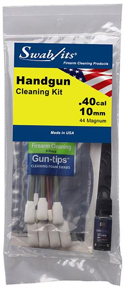 Swab-its® .40cal/10mm/44 MAGHandgun Cleaning Kit: 44-003
