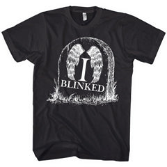 I Blinked — Doctor Who Weeping Angels Mens Black T-shirt