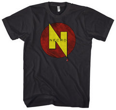 Necro Publications Comic Logo T-Shirt: Mens