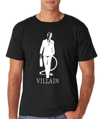 Villain Mens Black T-shirt