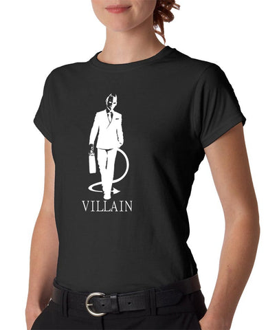Villain Women's Black T-shirt