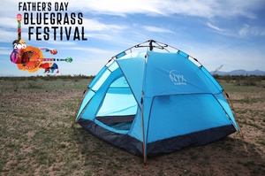 """Sick"" on Monday: Tent Only"