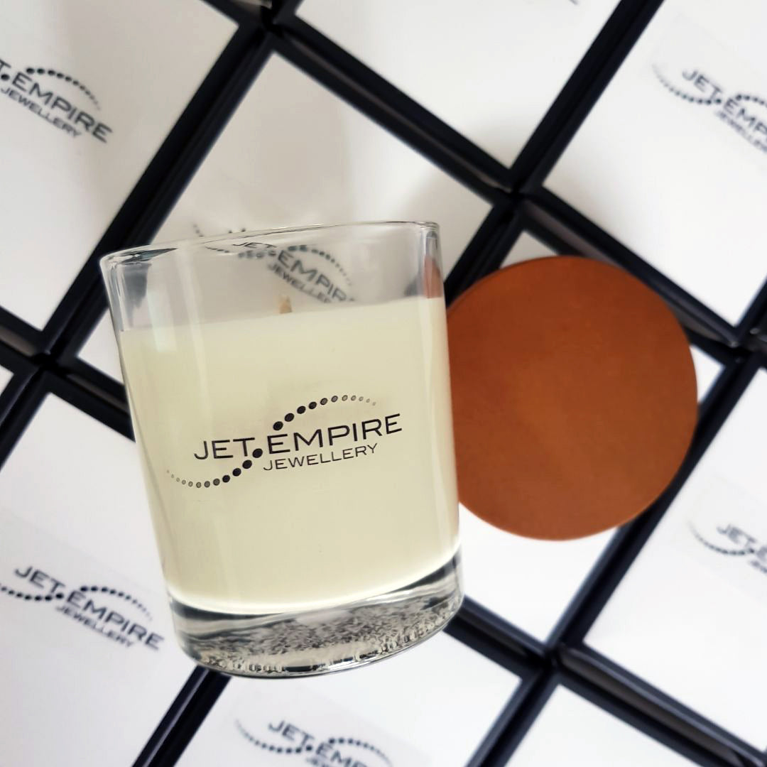 Free soy candle with Jet Empire purchases over $50