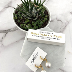 Plants and Succulents, Jet Empire and Nina Bailey perfume oil at Jet Empire Jewellery & Gifts Subiaco