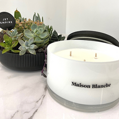 Maison Blanche candle at Jet Empire Jewellery & Gifts Subiaco