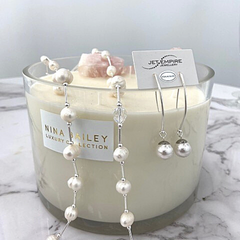 Nina Bailey candle and Jet Empire Happy Together earrings at Jet Empire Jewellery & Gifts Subiaco
