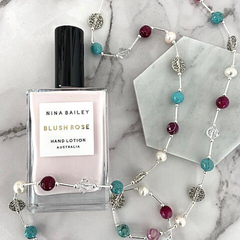 Nina Bailey Body Lotion and Jet Empire necklace at Jet Empire Jewellery & Gifts Subiaco