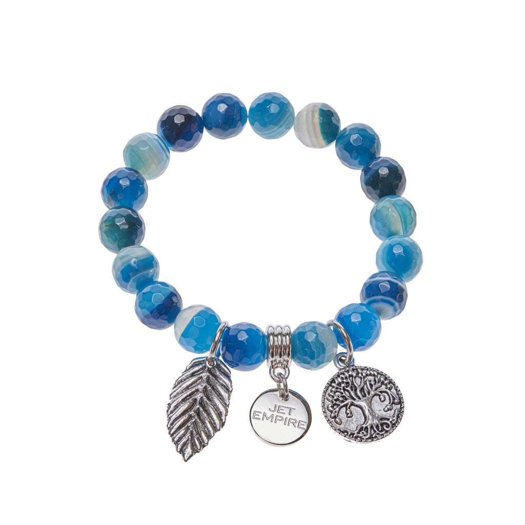 Enjoy the Silence - Blue Agate