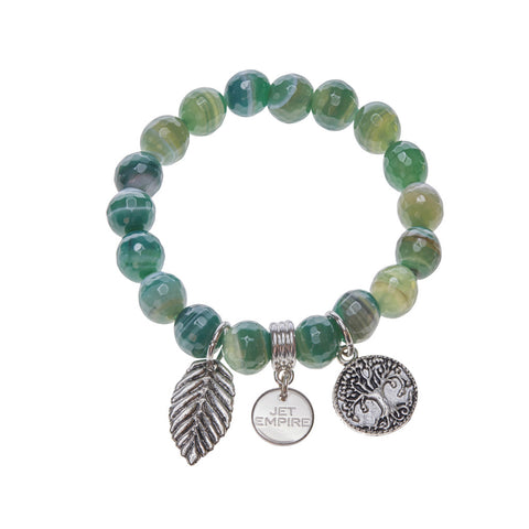 Enjoy the Silence - Green Agate