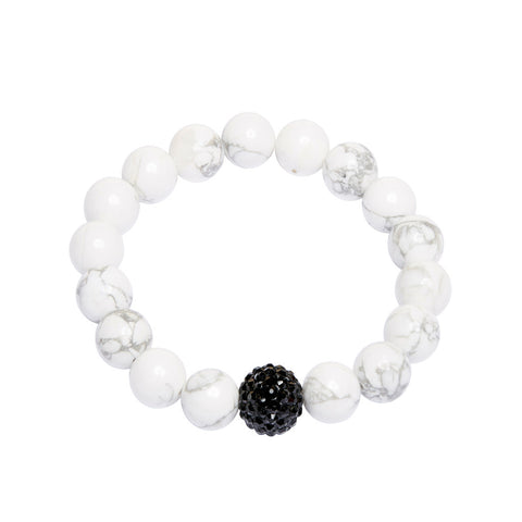 Crystal Ball - White Howlite