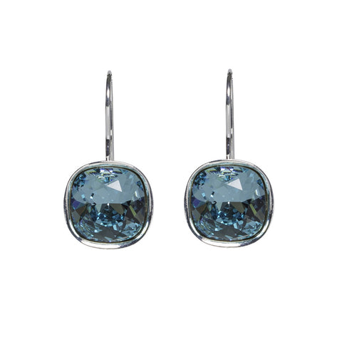 Turquoise A Movie Script Ending Swarovski Crystal earrings