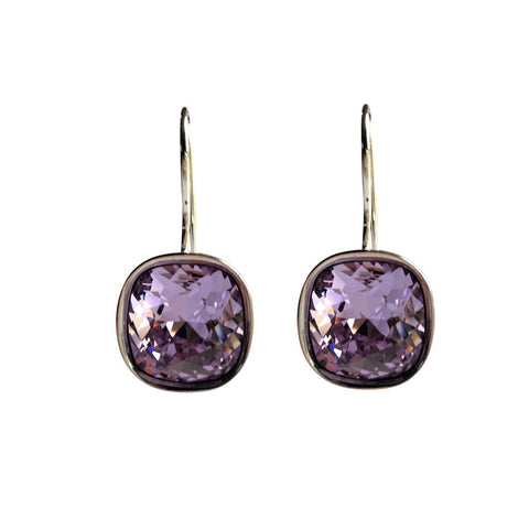 Violet A Movie Script Ending Swarovski Crystal earrings