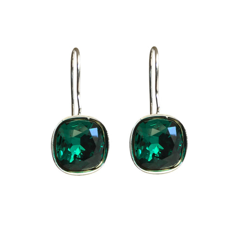 Emerald A Movie Script Ending Swarovski Crystal earrings