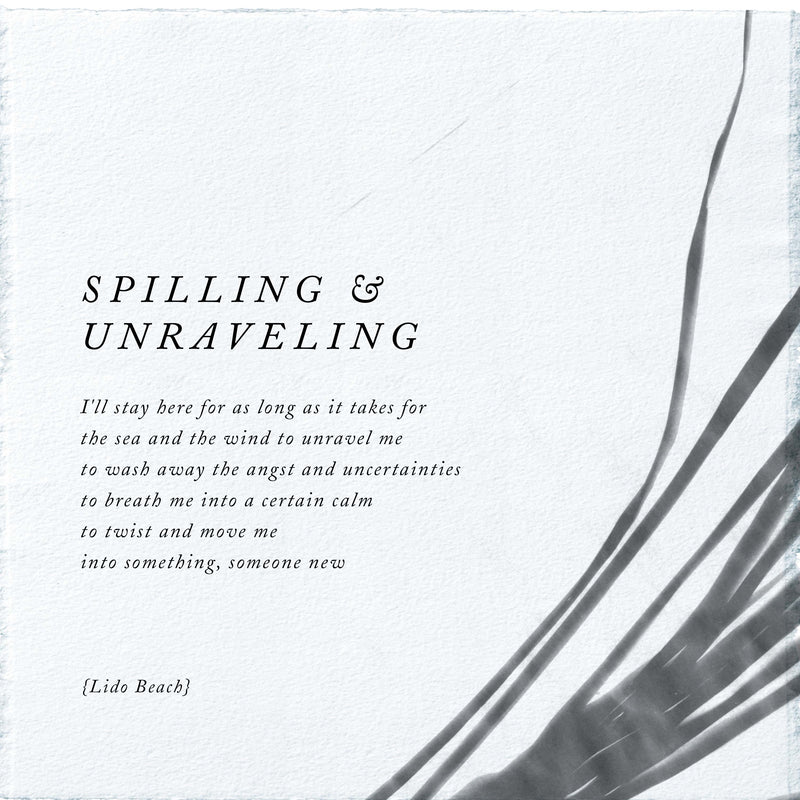 SPILLING AND UNRAVELING MIST