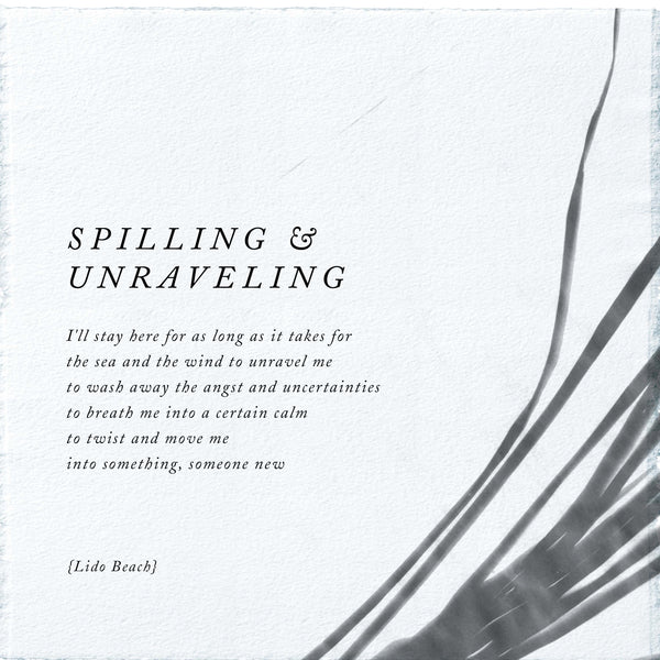 SPILLING & UNRAVELING CANDLE
