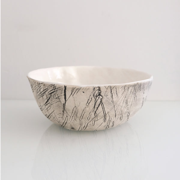 Black Birch Bark Bowl