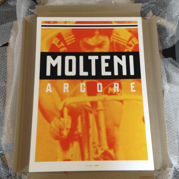 Merckx Molteni 2014 Screenprint