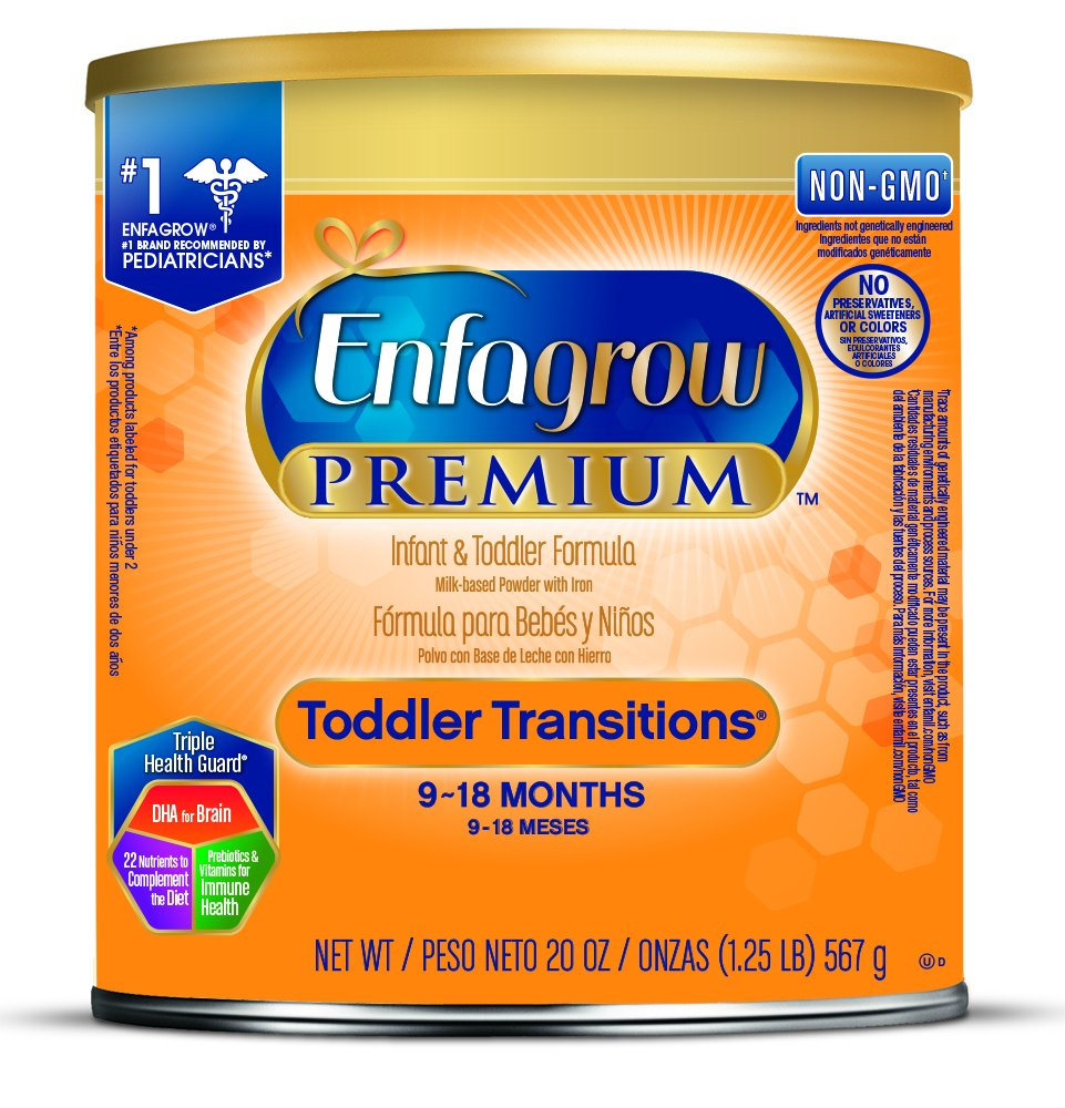 Enfagrow PREMIUM Transitions Case Of 4 20 OZ - Babies Nutrition