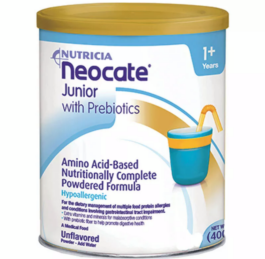 Neocate Junior with Prebiotics, Unflavored 4-14.1oz (Case)