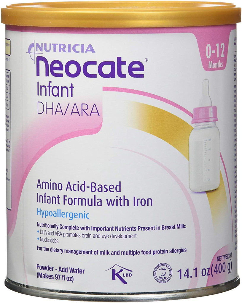 Neocate Infant DHA and ARA, Case Of 4 - 14.1 oz - Babies Nutrition