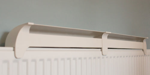 radfan long on a radiator
