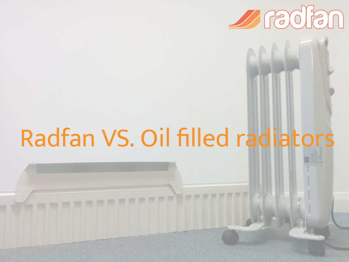 Radfan vs oil filled radiator