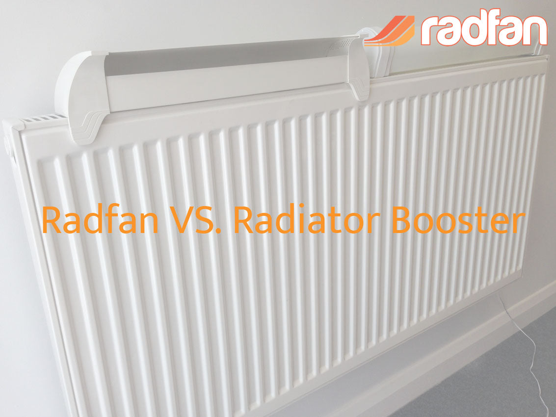 Radfan vs Radiator booster