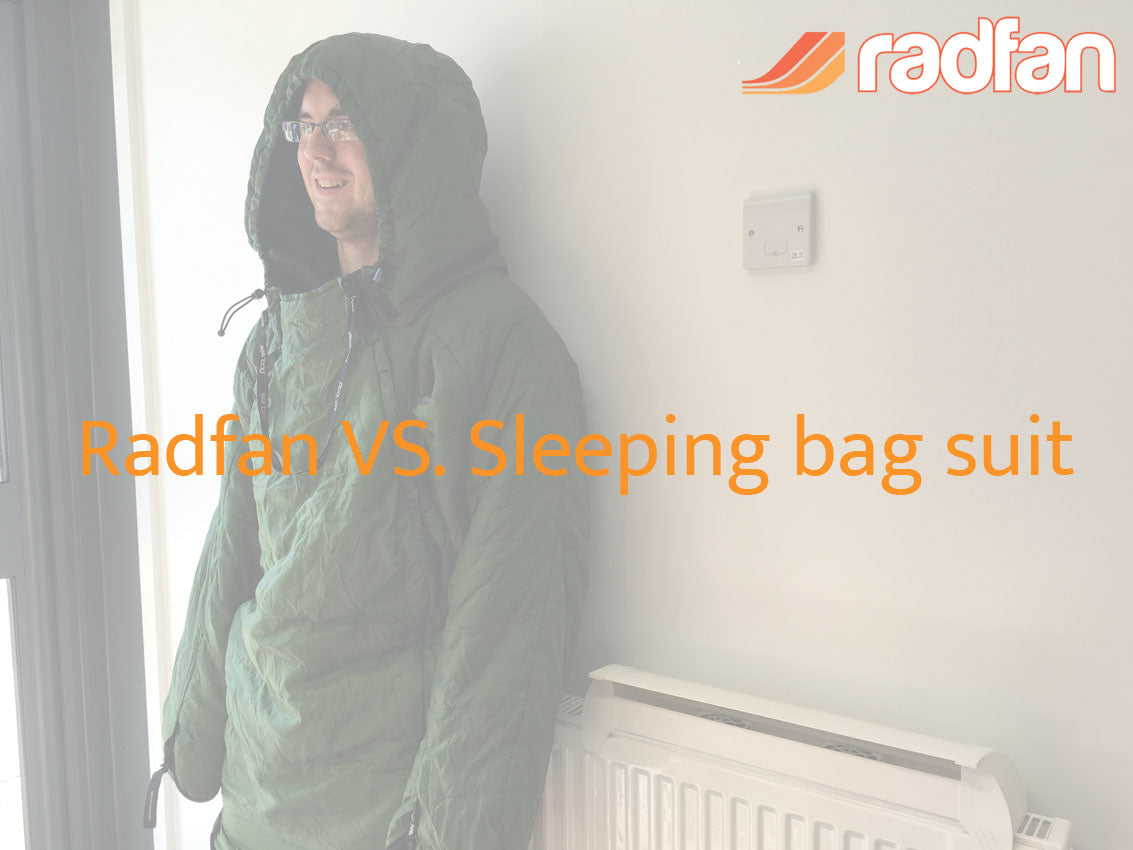 Radfan vs Sleeping bag suit