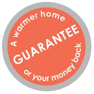 Warmer home guarantee seal